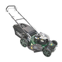 Webb WER21HW 53cm N/Ahp 190cc Self-Propelled Rotary High Wheel 4-in-1 Lawn Mower