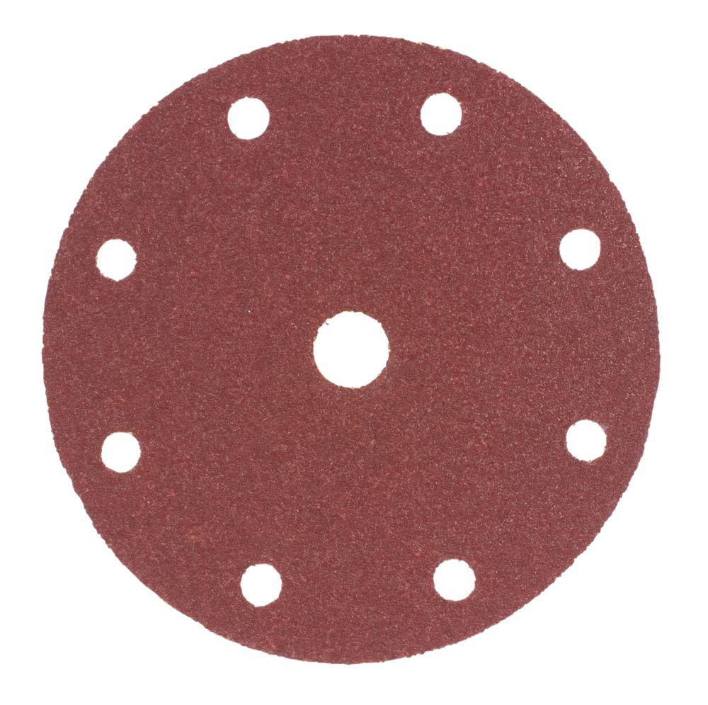 150mm Sanding Disc 80 Grit Pack of 10