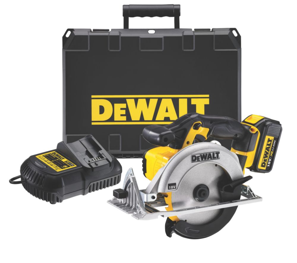 DeWalt DCS391L2-GB 165mm 3Ah Li-Ion Cordless Circular Saw 18V