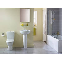 Ideal Standard Alto Contemporary Single Ended Bathroom Suite with Acrylic Bath