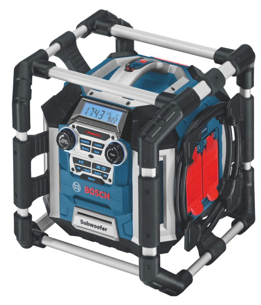 Bosch GML 50 Radio with Battery Charger for 14.4-18V Batteries