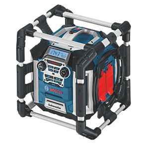 BOSCH GML 50 Radio with Battery Charger for