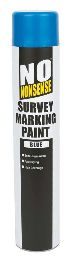 No Nonsense Survey Marking Paint Blue 750ml