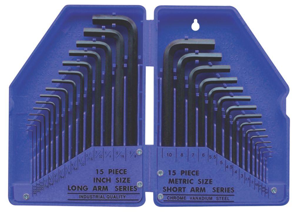 Hex Key 30 Piece Set