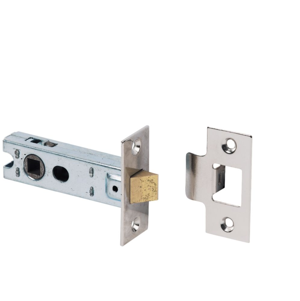 Tubular Latch Polished Nickel Effect 76mm