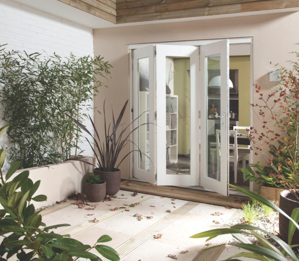 Jeld-Wen Wellington Slide & Fold Patio Door Set White 2394 x 2094mm