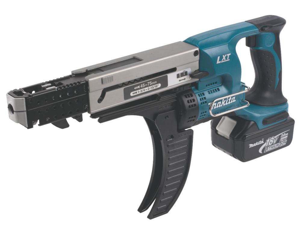 Makita BFR750RFE 18V 3Ah Li-Ion Cordless Auto-Feed Screwdriver