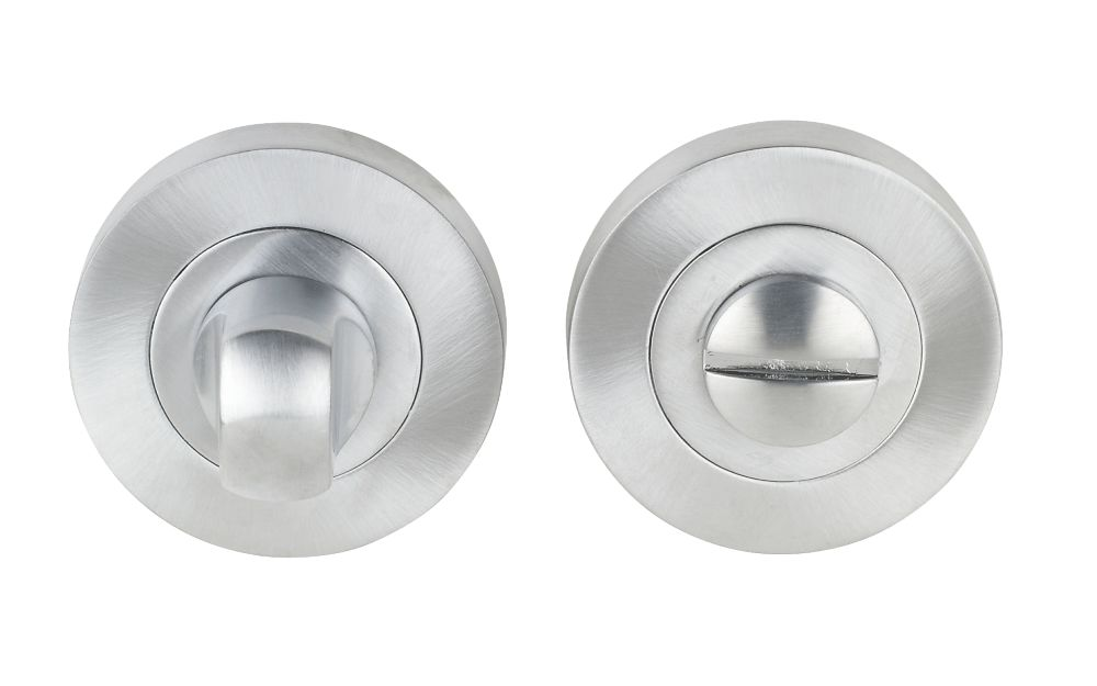 Jedo Thumbturn & Release Satin Chrome