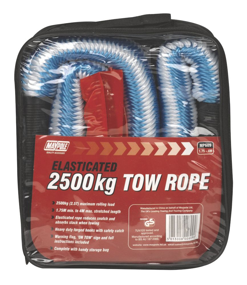 CarPlan 2.5-Tonne Tow Rope