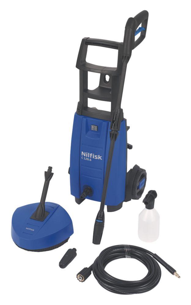 Nilfisk ALTO C120 6-6 120bar Pressure Washer With Trolley 1.4kW 230V