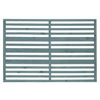 Grange Timber Urban Garden Screen Panel Heritage Blue 1.2 x 1.8m 4 Pack