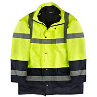 "Hi-Vis Jacket Yellow X Large 55"" Chest"