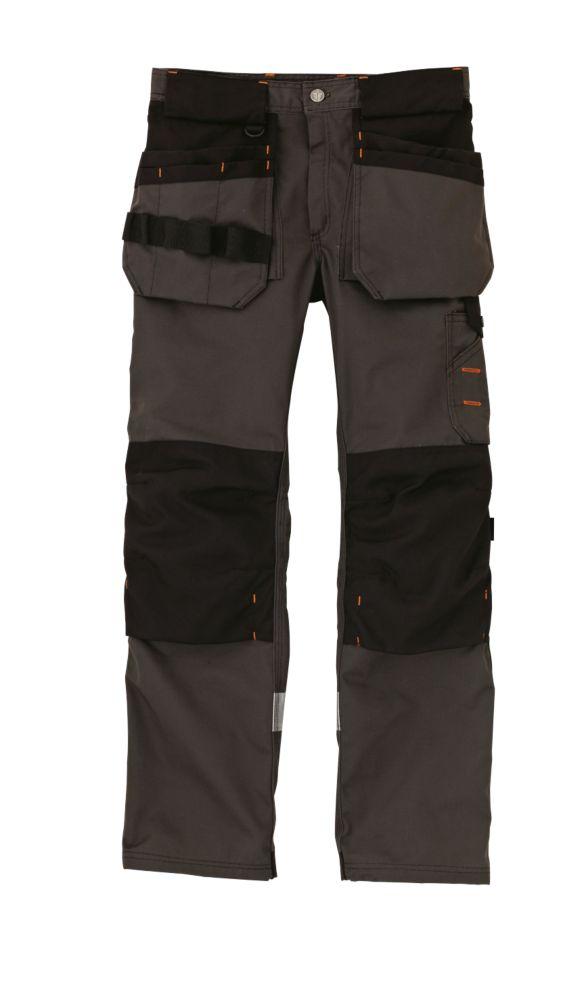 "Scruffs Trade Trousers Graphite Grey 40"" W 31"" L"