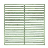 Grange Timber Urban Garden Screen Panel Sage Green 1.8 x 1.8m 5 Pack