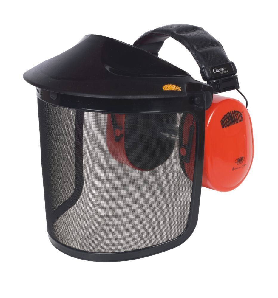 JSP Bushmaster Browguard with Ear Defenders