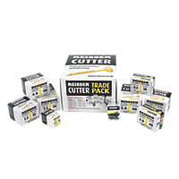 Reisser Countersunk Pozi Yellow Woodscrew Trade Pack 1620 Pcs