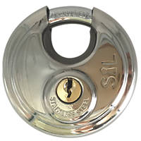 Smith & Locke DP9070 Stainless Steel Disc Padlock Max. Shackle W x H: 23 x 18mm
