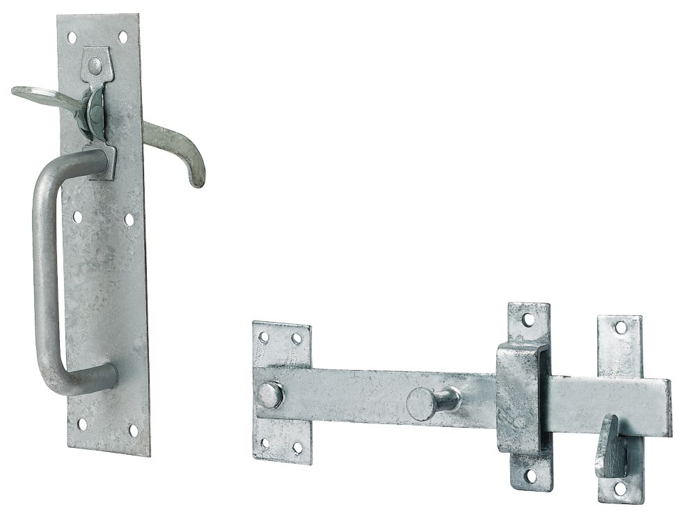 20/4 Galvanised Suffolk Latch