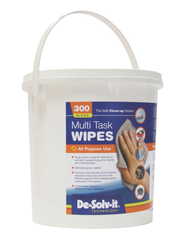 De.Solv.It Multi Task Wipes Pack of 300