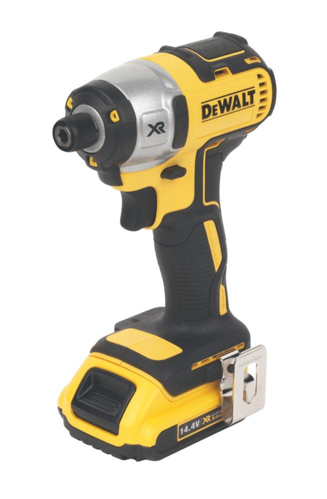 DeWalt DCF836D2-GB 14.4V XR 2Ah Li-Ion Cordless Impact Driver Brushless