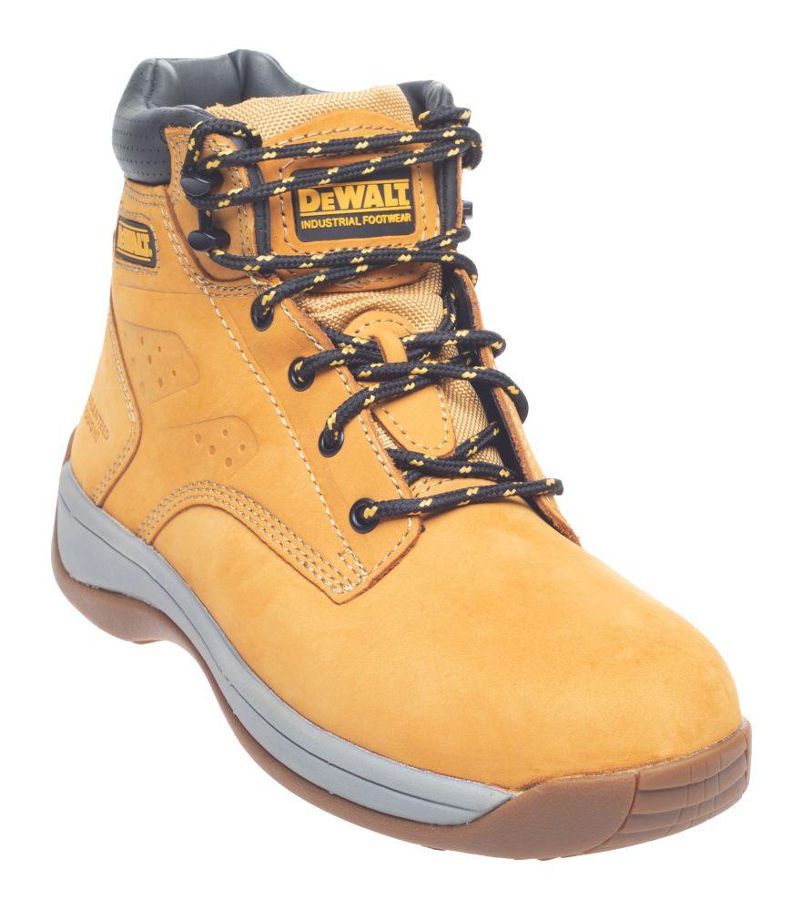 DeWalt Bolster Safety Boots Honey Size 7