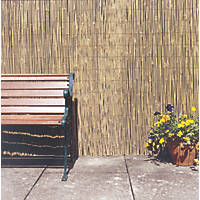 Apollo Natural Timber Full Bamboo Garden Screen 2 x 4m