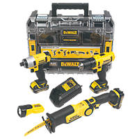 DeWalt DCK410C3FT-GB 10.8V 1.3Ah Li-Ion Cordless 4-Piece Kit XR
