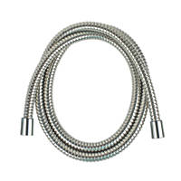 Moretti Brass Shower Hose Flexible Chrome 9mm x 1.75m