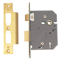 "Yale 5-Lever Mortice Sashlock Polished Brass 3"" / 76mm"