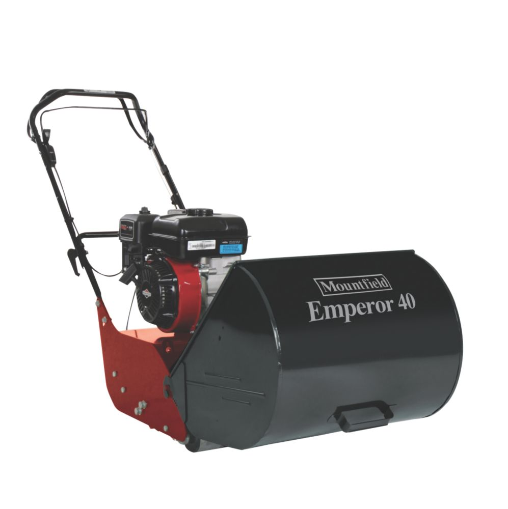 Mountfield Emperor 40 40cm 3.13hp Self-Propelled Cylinder Petrol Lawn Mower
