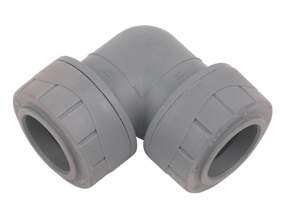 PolyPlumb Elbow 22mm