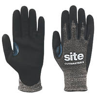 Site Cutmaster Cut 5 Gloves Black Large