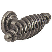 Hafele Twister Cabinet Knob Antique Pewter  23mm