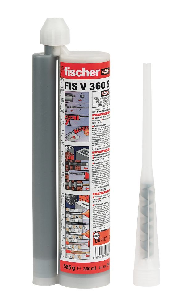 Fischer Hybrid Mortar Resin V 360ml