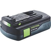 Festool BP 18 Li 3.1 18V 3.1Ah Li-Ion Airstream Battery Pack