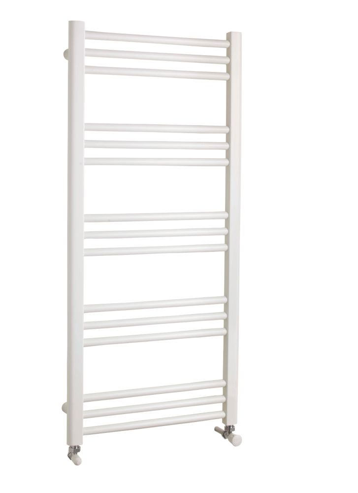Kudox Timeless Towel Radiator White 1100 x 500mm 391W 1334Btu