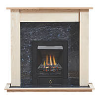 Focal Point Soho Gas Inset Suite Ash Veneer