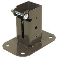 Bolt-Down Post Supports 50 x 50mm 2 Pack
