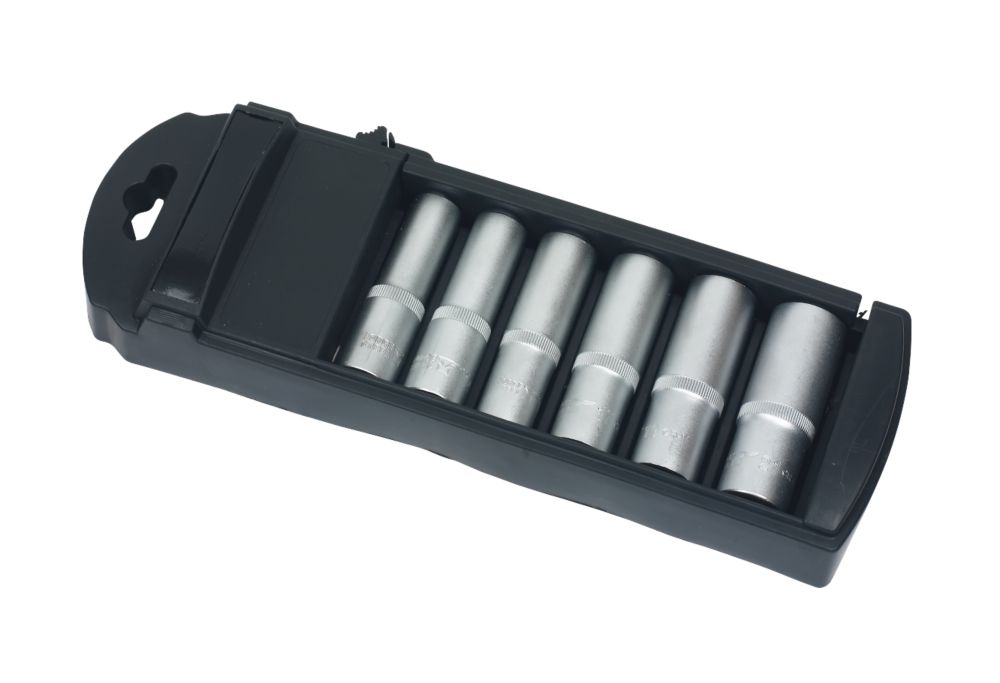 "Forge Steel Deep Socket Set ½"" 6 Pieces"