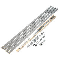 Henderson Pocket Door PDK4 1-Door Sliding Track System 1601mm