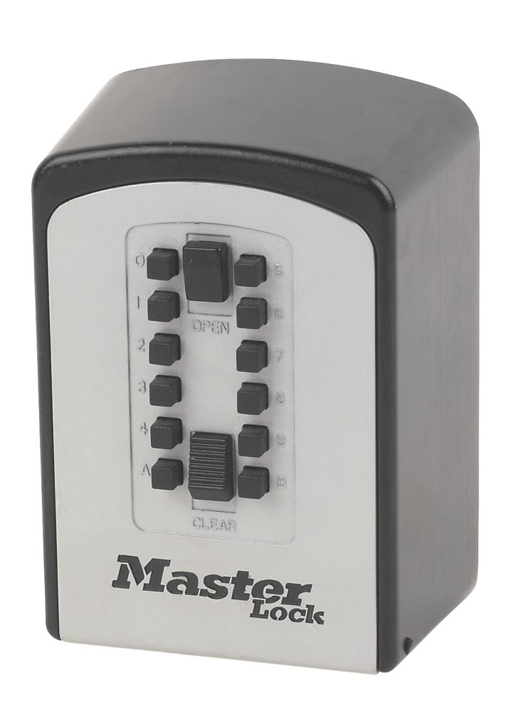 Master Lock Push Button Combination Key Safe