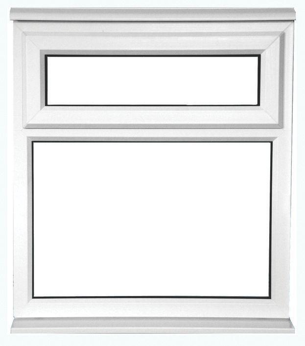 TF uPVC Window Translucent 915 x 1050mm