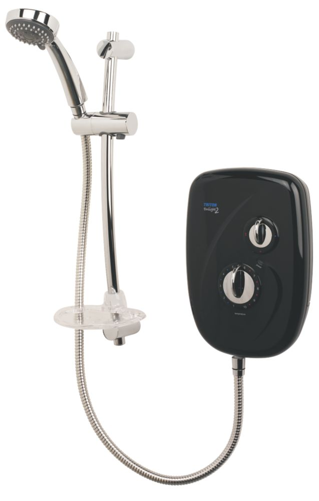 Triton Enlight II Manual Electric Shower Gloss Black 9.5kW
