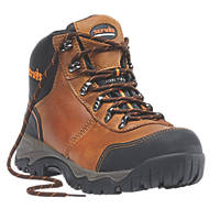Scruffs Assault Safety Boots Brown Size 8