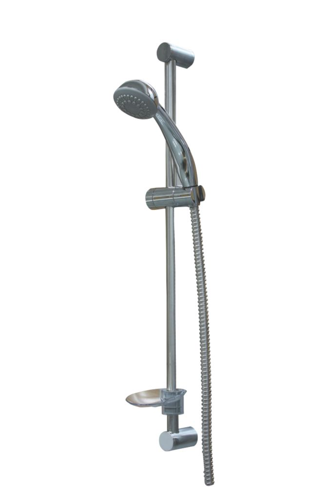 Swirl Xeron Shower Kit Modern Design Chrome