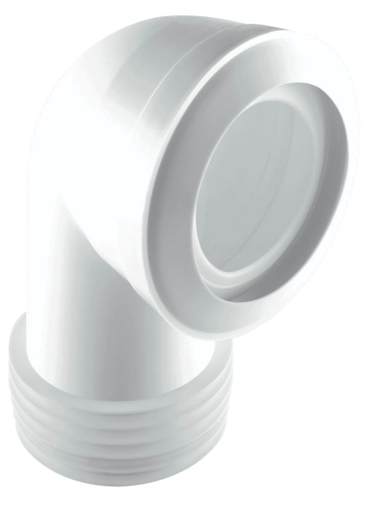 McAlpine MACFIT 90° WC Short Pan Connector