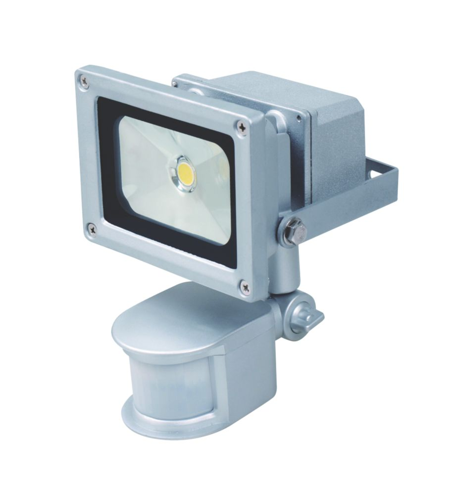 Masterlite LED Sensor Controlled PIR Floodlight 10W