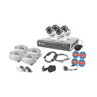 Swann SWDVK-845754-UK 8-Channel Security System & 4 Cameras
