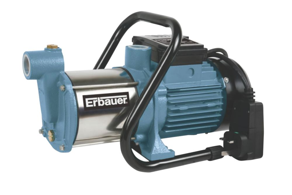 Erbauer ERB422PMP 1100W Multi-Impeller Surface Water Pump 240V