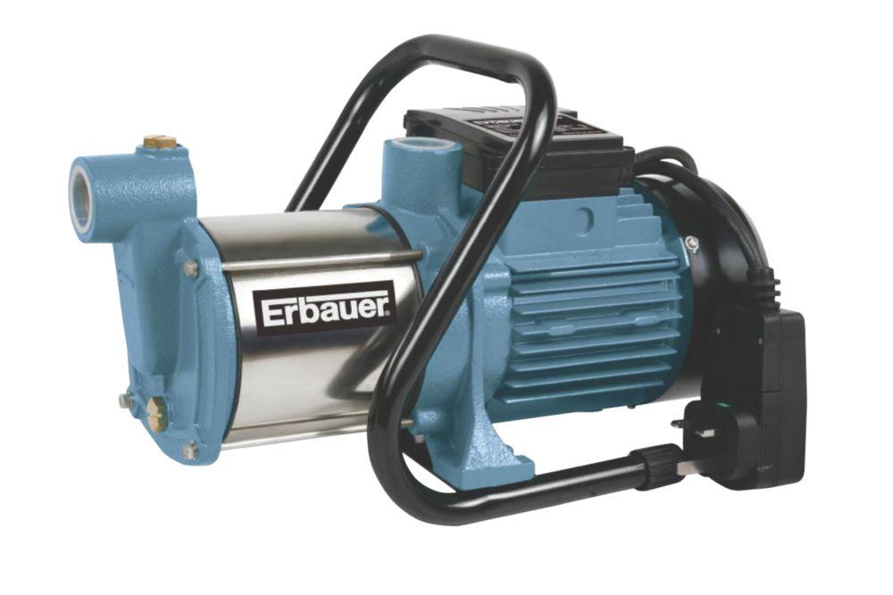 Erbauer ERB422PMP 1100W Multi-Impeller Surface Water Pump 240V